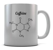 Caffeine Molecule Mug Cup Present Gift Coffee Birthday