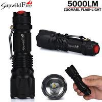 Supwildfire Superhellen Cree Aa / 14500 3 Modi Zoombare Led Taschenlampe Fackel