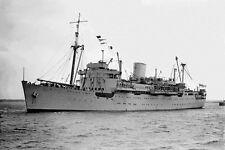 KANIMBLA WW2 as Infantry Landing Ship 1943 modern digital photo Postcard