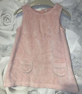 Girls 0-3 Months - M&S Soft Pink Pinafore Dress