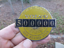 "Volvo 500,000 High Mileage Club emblem badge 3"" wide"