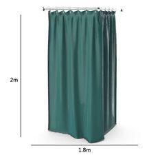 XINPIANZ Panno per Tenda da Doccia Bianco Ispessimento Impermeabile Bagno Impermeabile Tenda da Parete Divisoria Set Tenda per Tenda Tenda da Appendere 80X180 Cm