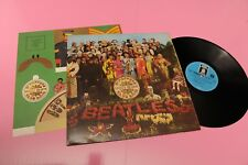 BEATLES LP SGT PEPPER'S .. GERMANY 1969 NM LAMìINATED COVER AND INSERT TOOPPP