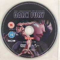 The Chronicles of Riddick Dark Fury (DVD, 2004) - Disc Only