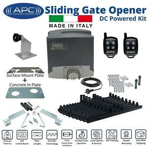 Heavy Duty 24V DC Powered Sliding Gate Opener All In One Motor - Trade Kit