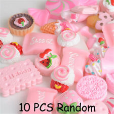 10Pcs Pink Blessing bag Squishy Charms Squeeze Slow Rising Toy Collection Gift