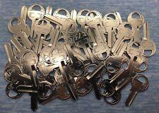 M1 / 1092 NP Master 4-Pin Padlock Key Blanks for Locksmith - 50 pcs Lot