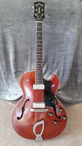 1963 Guild Starfire II - Vintage Guitar - Original Case, Key & Manual