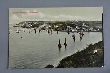 R&L Postcard: Outer Harbour Brixham, Boats