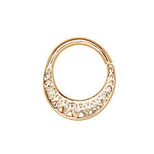 Rose Gold Plated Made for Royalty Annealed Tribal WildKlass Septum Ring