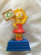 2007 The Simpsons Movie Burger King Kids Meal Toy - Lisa Cake Topper