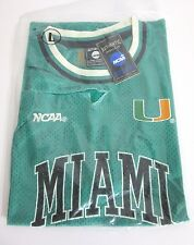 MIAMI GREEN BASKETBALL JERSEY GENUINE NCAA CANES SIZE LARGE BNWT R.R.P $60