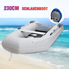 Schlauchboot 230*130cm Paddelboot Sportboot Angelboot Ruderboot für 2 Personen