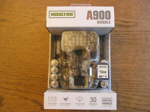 Brand new - Moultrie MCG-14001 A900 Trail Camera Bundle - Free Ship