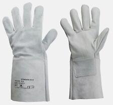 1 Paar Rindleder Handschuhe Schweisser Grösse 10,5 Schweißerhandschuhe