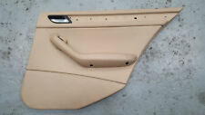 BMW 3 SERIES E46 98-06 INTERIOR DRIVER OFFSIDE REAR DOOR PANEL BEIGE 8224540