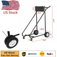 315 LBS Outboard Boat Motor Stand Carrier Cart Dolly Storage Pro Heavy Duty Tool