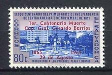 27317) EL SALVADOR 1965 MNH** Nuovi** Ovptd Gral