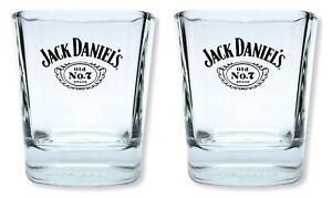 2 Stück Jack Daniels Tumbler - Set Glas Gläser Whisky Becher