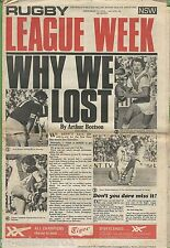 #T102. RUGBY LEAGUE WEEK, 13th September 1975, Semi Final Preview