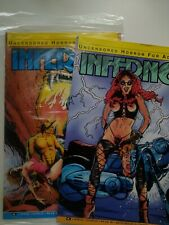 Inferno - Uncensored Horror for Adults 3 4 Aircel Comics Canada Pulp NM