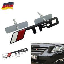 3D Auto Schriftzug Grill Frontgrill Emblem Badge Plakette für Rote Schwarz TRD