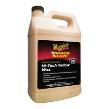 Meguiar's M2601 Mirror Glaze Hi-Tech Yellow Wax High Gloss Protection Gallon