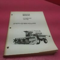SPERRY NEW HOLLAND SERVICE MANUAL COMBINE TR™95 (LT282)