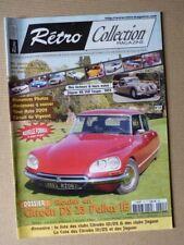 Rétro Collection n°55, Citroën DS23ie Pallas, Jaguar XK140 coupé