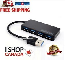 USB 3.0 Multi HUB 4-Port Splitter Expansion Cable Adapter Ultra Speed Laptop PC