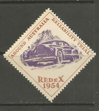Australia 1954 Redex (Reliability Trial) popster stamp/label