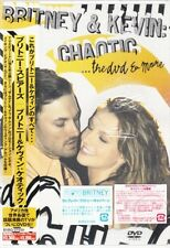 BRITNEY SPEARS & Kevin Chaotic DVD JAPAN 1ST ED STICKERS! NEW BVBQ-21039 s5430