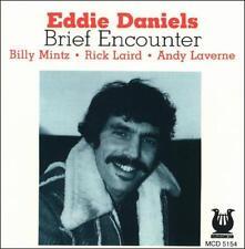 Eddie Daniels - Brief Encounter (CD, Mar-1994, Muse (USA) New & Sealed