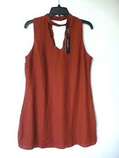 Heart Soul Junior Womens Size XL Redwood Cut Out Shift Dress New With Tags