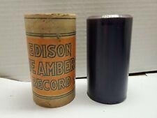 Edison Blue Amberol Cylinder Record #1543 Red Wing (BIN #93)
