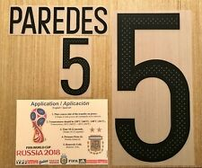 PAREDES Argentina #5 2017 Name/Number Professional Size