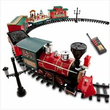 Disney Park 30 piece Christmas Train Set with Mickey Goofy Duffy Chip and Dale