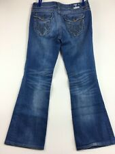 MEK Denim Jeans Chicago Boot Cut Women size 30 Altered