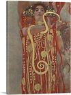 ARTCANVAS Medicine - Detail Showing Hygieia 1899 Canvas Art Print Gustav Klimt