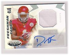 De'Anthony Thomas 2014 Certified #215 Jersey Autograph /699 ROOKIE BV $15