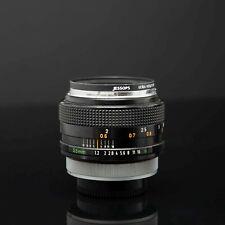 Canon FD 55mm f1.2 Con Filtro Uv