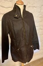 100% authentic Brown Barbour bramham waxed jacket fully lined UK 12 worn twice