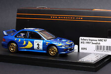 Subaru Impreza #3 1997 Swedish Rally -Snow Tires- *Colin McRae* - HPI #8595 1/43