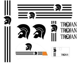 Vespa PX Sticker Set,  Ska Trojan Full Kit PX Kit mods Skinhead
