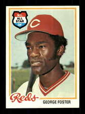 1978 Topps #500 George Foster EXMT/EXMT+ Reds 523152