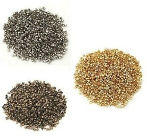 100 pcs Silver Tone Round Stud spot spike for leather crafts findings size 14 mm