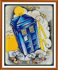 the time lord CROSS STITCH CHART 12.0 x 9.7 Inches