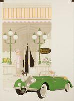 Original Vintage Poster - Noyer Denis-Paul - Le Relais du Parc - Paris - 1979