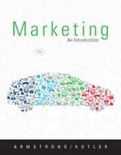 Marketing : An Introduction by Gary Armstrong and Philip Kotler (2012,...