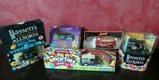 5 CONFECTIONERY PROMOTION MODELS & ADVERTISING BOXES FROM THE 1990'S BY LLEDO